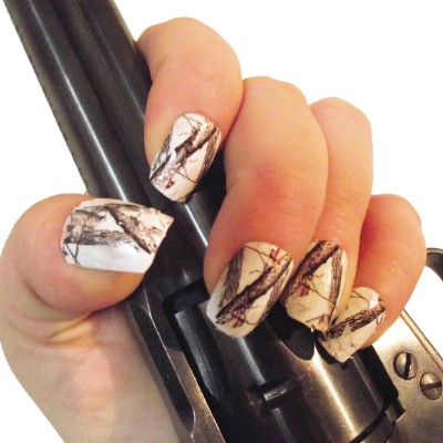 Nail decals the swamp company snow camo full nail decals 20 pk prinsesfo Image collections