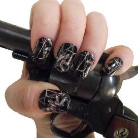 black camo full nail 2