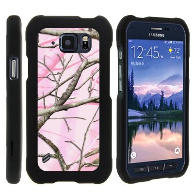 Pink Camo Samsung Galaxy S6 Active Case