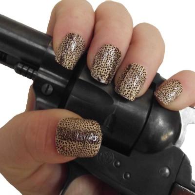 leopard full nail