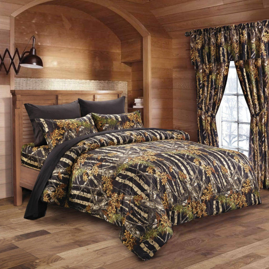 Bedding For A Black Bed