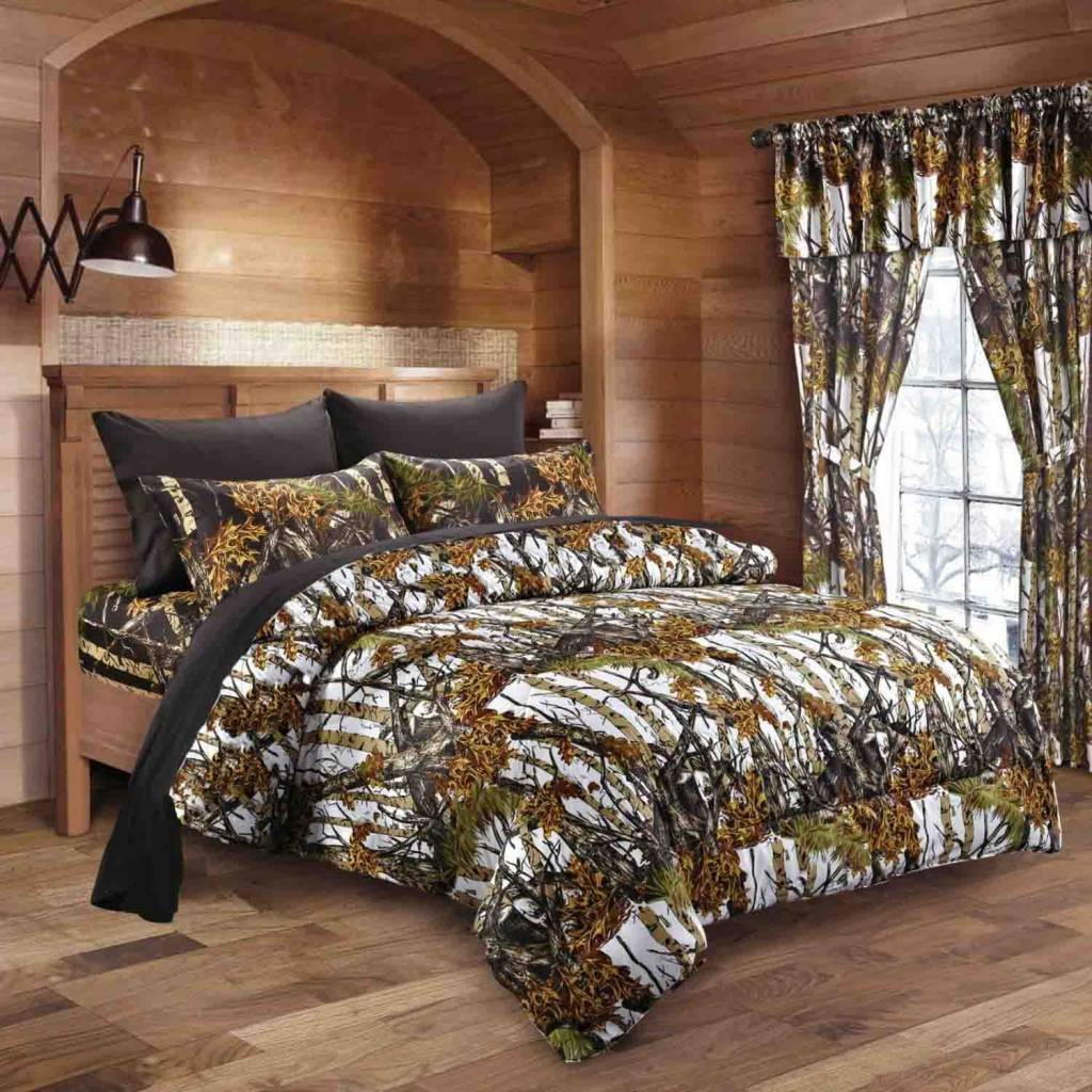 Orange camo bedding - Orange Camo Bedding 36