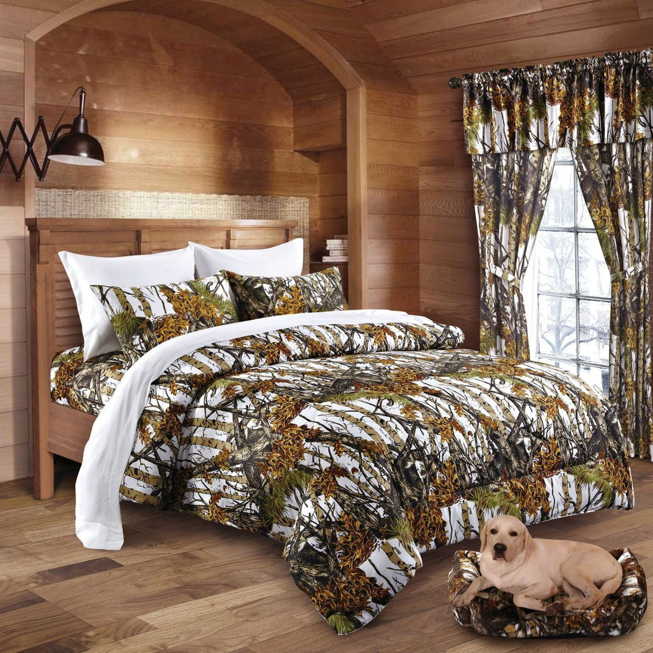 Snow Camo Bed In A Bag Set The Swamp Company