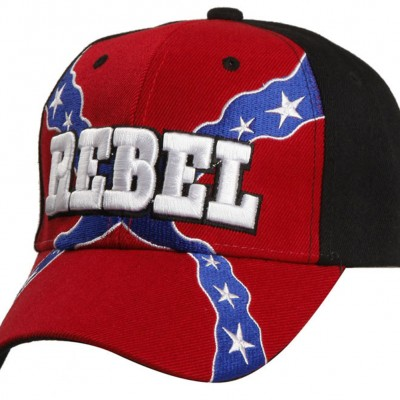 rebel front hat