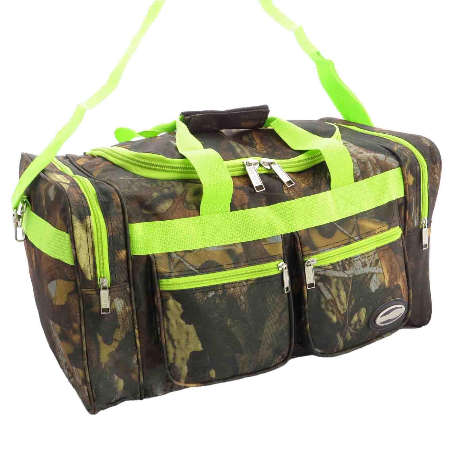 Lime green camo bedding lime camo the swamp company - Lime Green Camo Duffle Bag