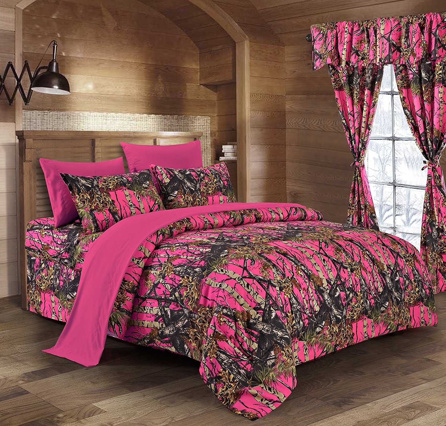 Day Glow Pink Camo Sheet Set The Swamp Company